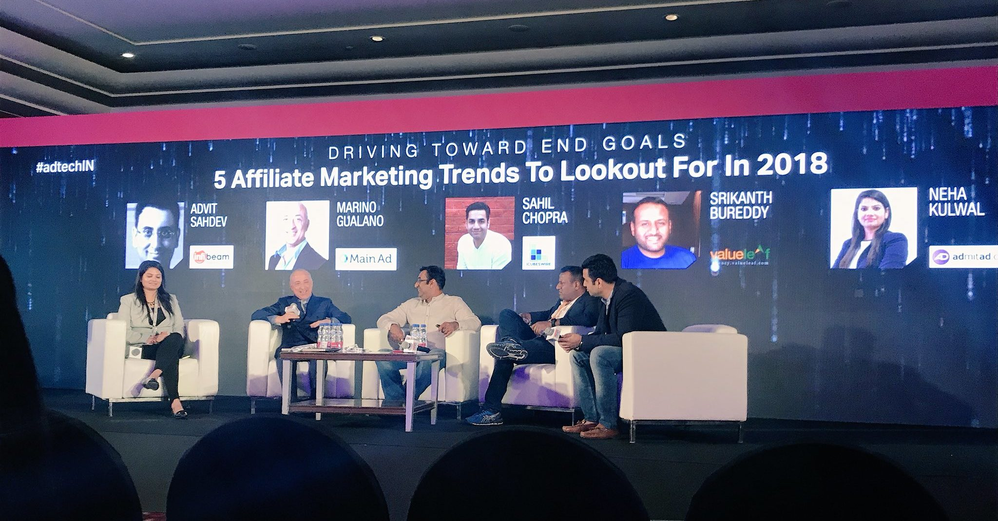 Marino Gualano, GM, on a panel discussion about '5 Affiliate Marketing Trends' at ad:tech New Delhi